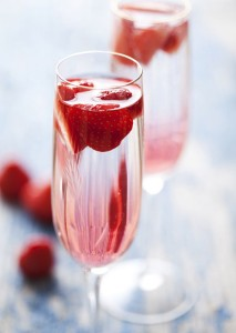 Wine or Champagne: Strawberry Champagne